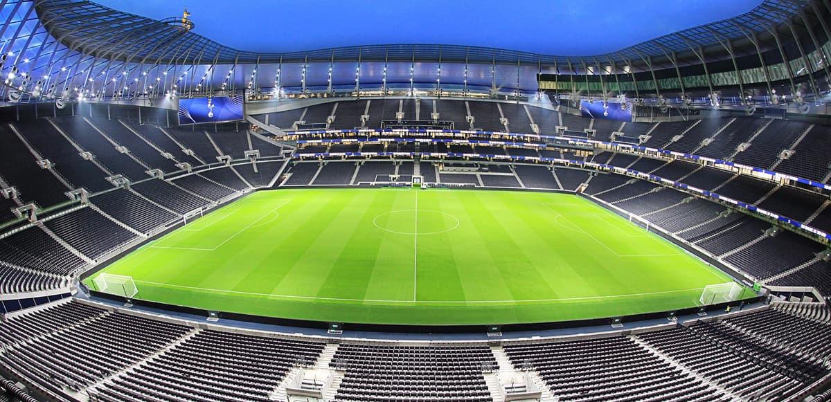 Image of Tottenham Hotspur Stadium.