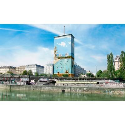 1  Tanja Deman Sommerfreuden 2015 Ringturm Vienna Public Installation