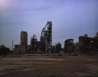 مصنع إسمنت 1