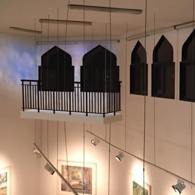 """"""" I Over Look Like The Balcony Of A House  """""""