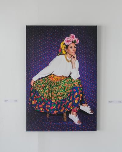 Loreta Bilinskaite Monie  Lithuanian In Satwa 2018  Digital Print  Limited Edition Of 10 80 X 121 Cm