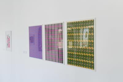 Nour Elbery  Khatwa Azeeza Nawartoona Alf Marhab 2019  From The Series ' Home Greetings'  Digital Print 60 X 84 Cm