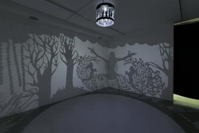 Lost In A Jinn Forest (Shadow Installation)