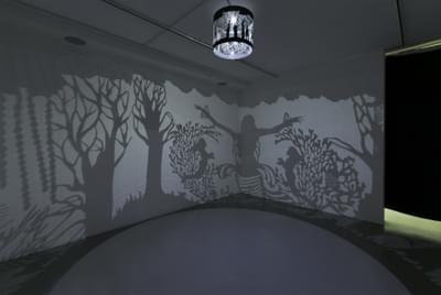 Lost In A Jinn Forest (Shadow Installation)
