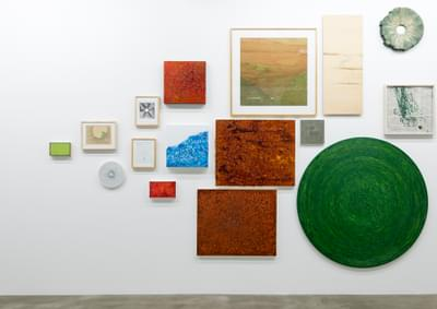Wall of works from 39/40