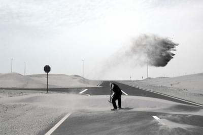عمل الصحراء - الطريق