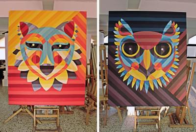Desert Fox, Day / Owl, Night