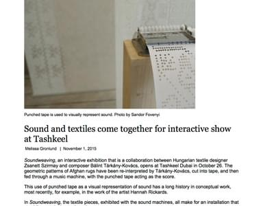 TheNationalOnline.Sound-and-Textiles.1-Nov