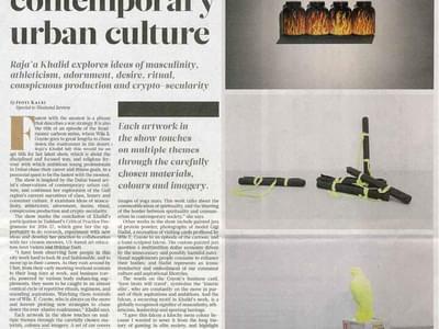 Gulf News Weekend Review Urban Culture 20 Oct 1