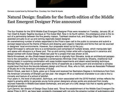 The National Online Natural Design 26 Jan