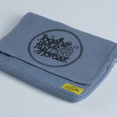 Myneandyours Grey Screenprinted Bag Variant