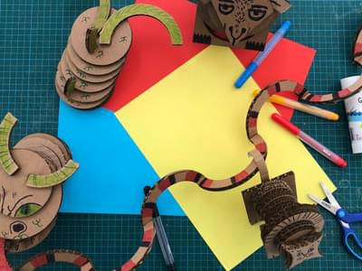 Cardboard Creatures 3