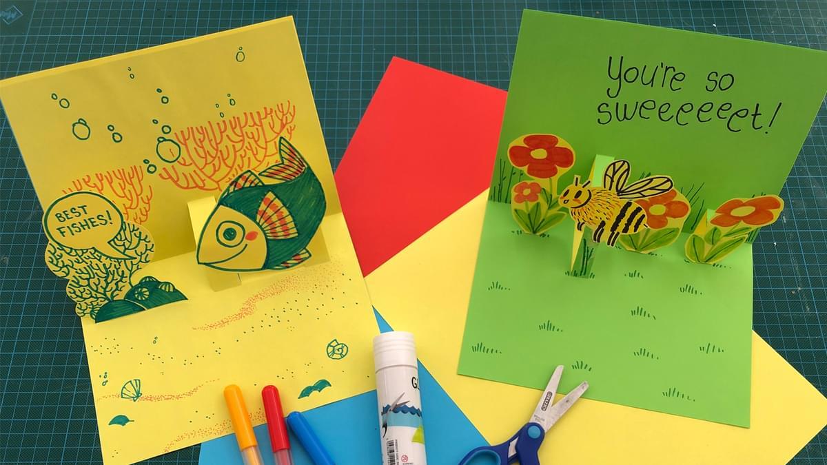 Pop up Cards 2
