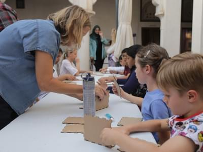 Tashkeel Youth Cardboard Workshop DXBDW2020