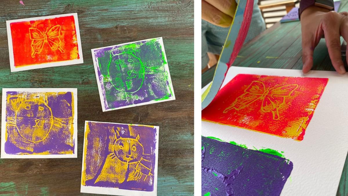 Rubber Block Printmaking 2