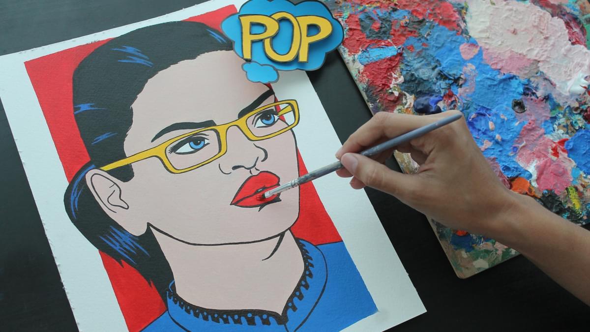 3 Pop Art Portrait Workshop Natalia Lasso 1