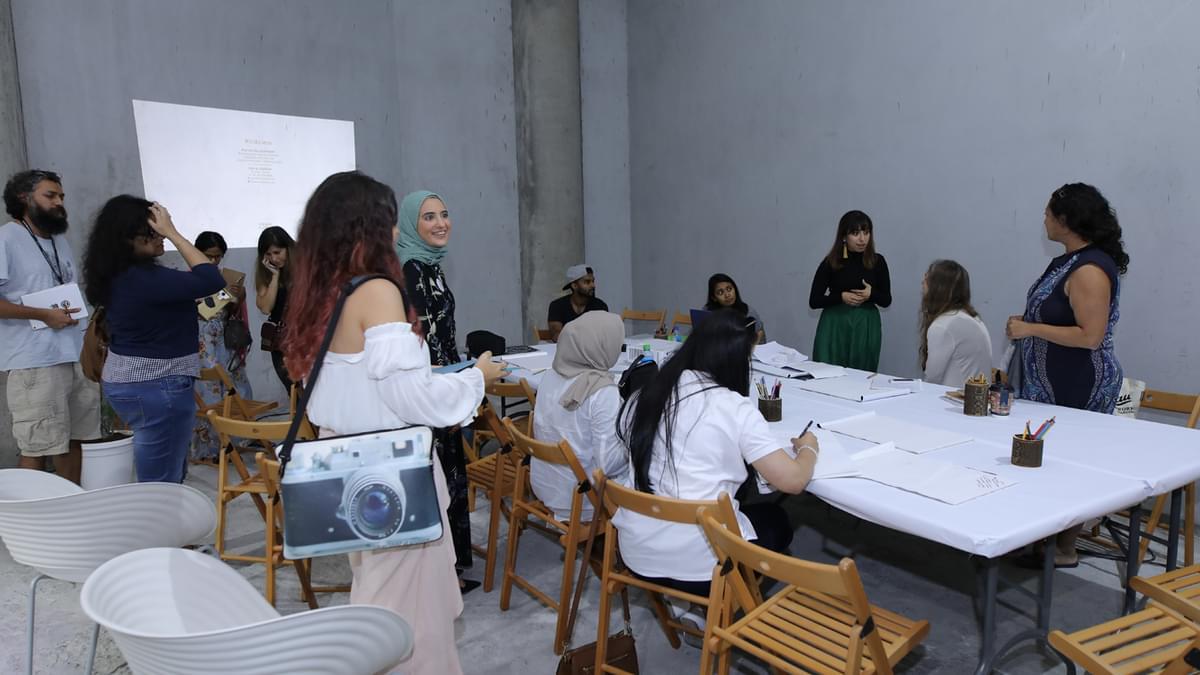 Yosr El Sherbiny Workshop