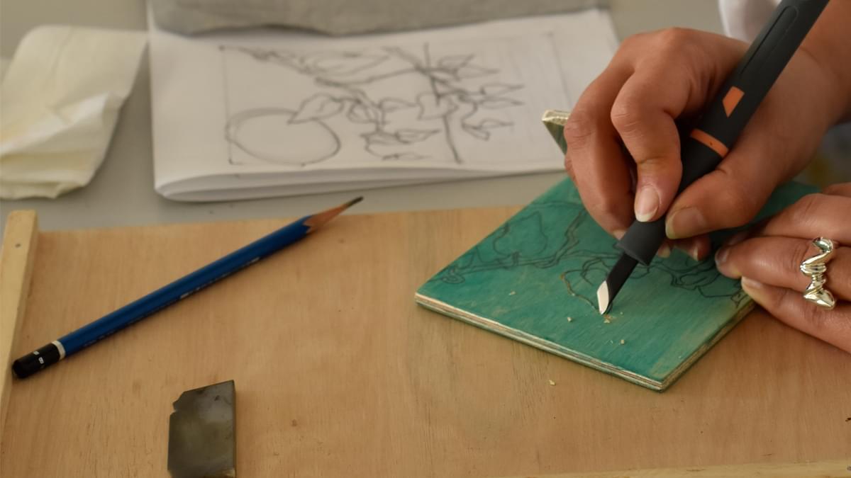 Woodblock Printmaking Salama 2