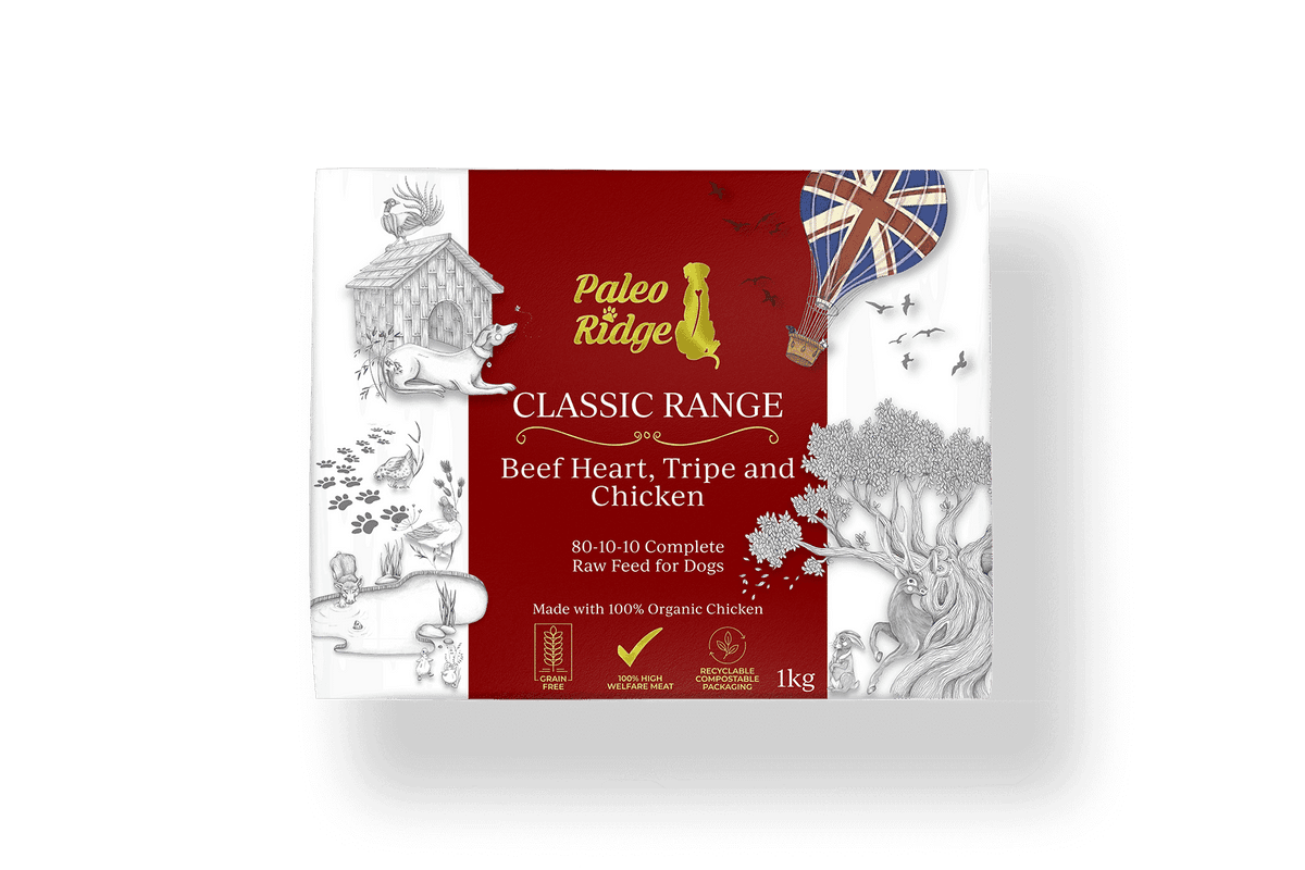 Classic Beef Heart Tripe and Chicken 1kg