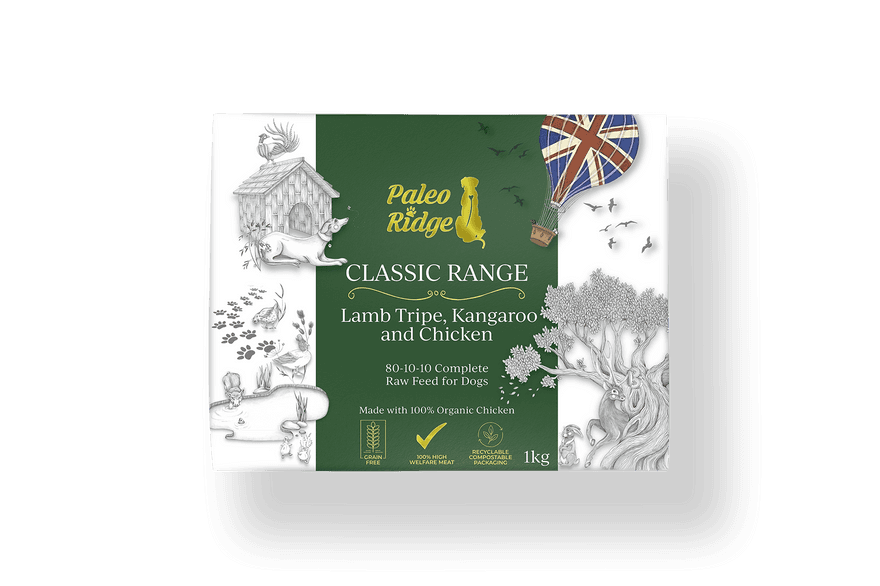Classic Kangaroo Lamb Tripe and Chicken 1kg