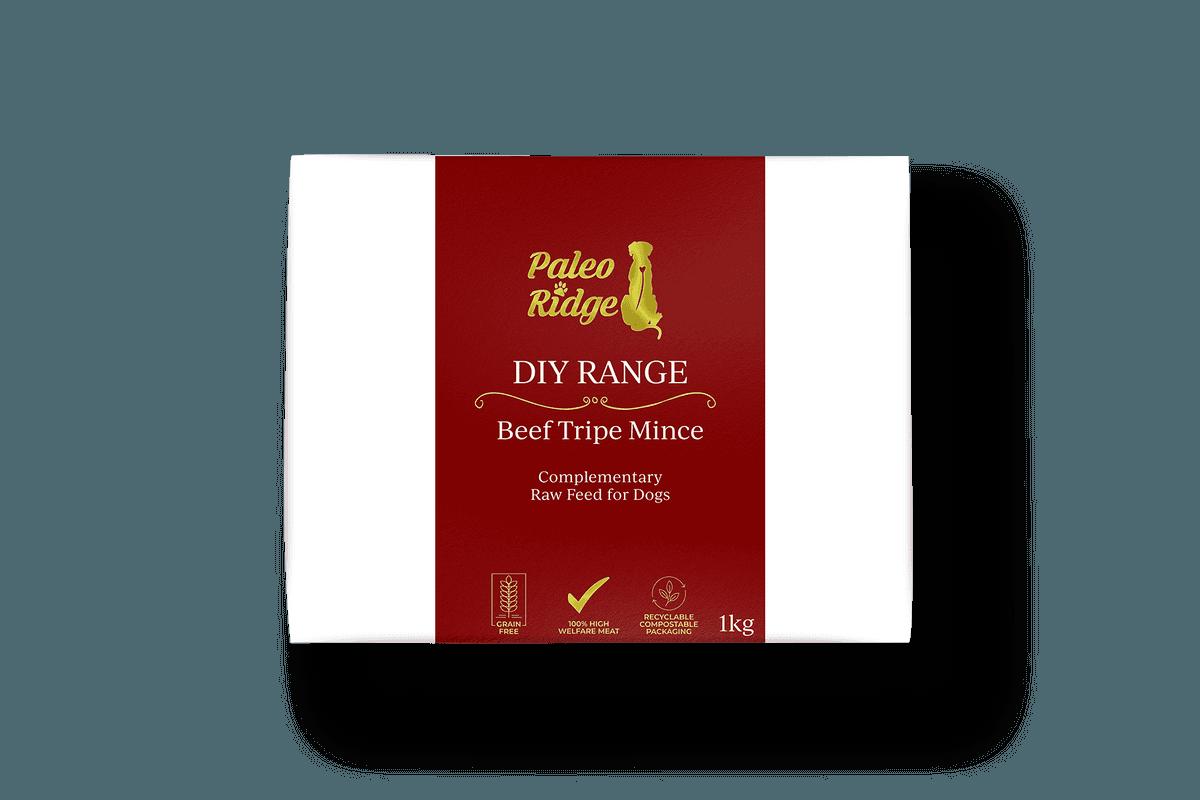 DIY Beef Tripe Mince 1kg