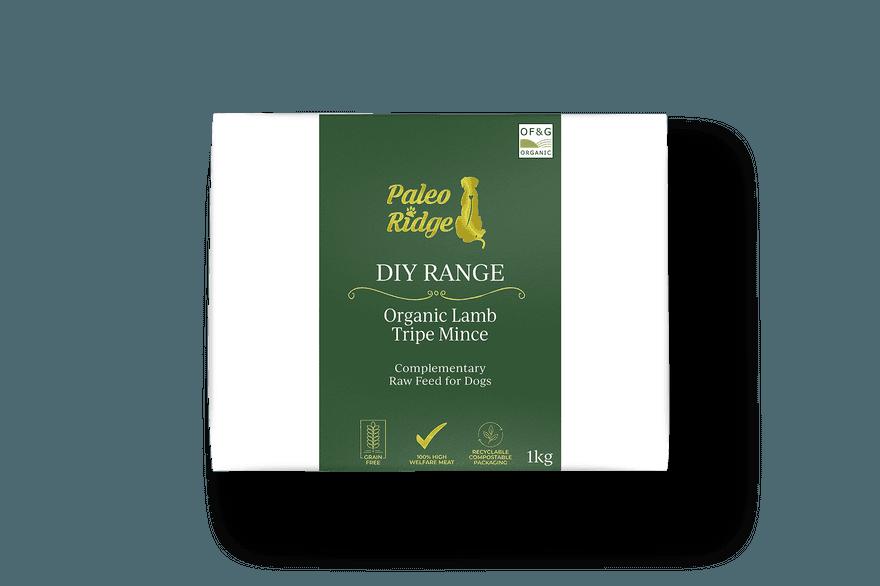 DIY Organic Lamb Tripe Mince 1kg