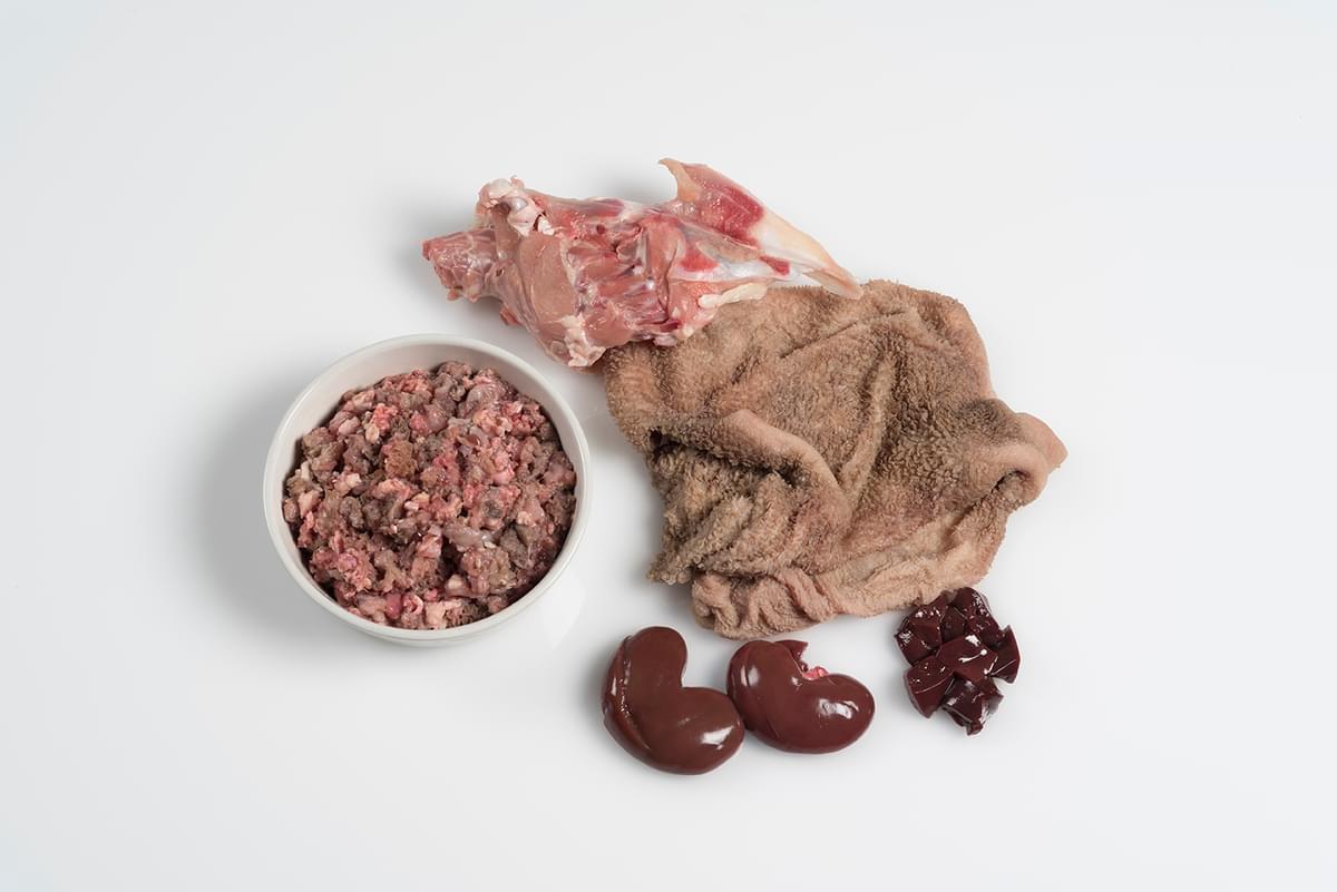Lamb Tripe and Chicken