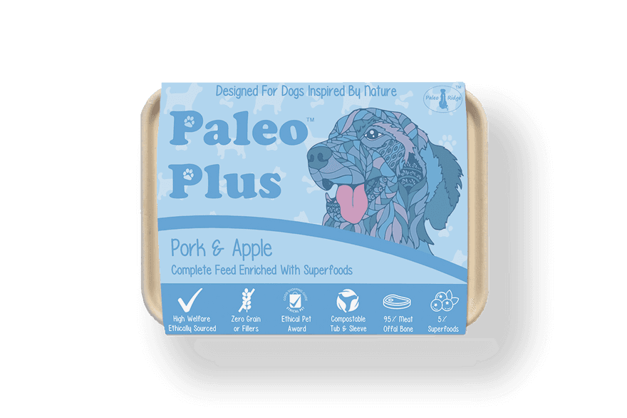 Paleo Plus Pork Apple 500g
