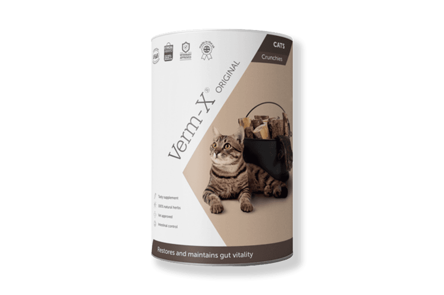 Verm X Original Crunchies for Cats 60g