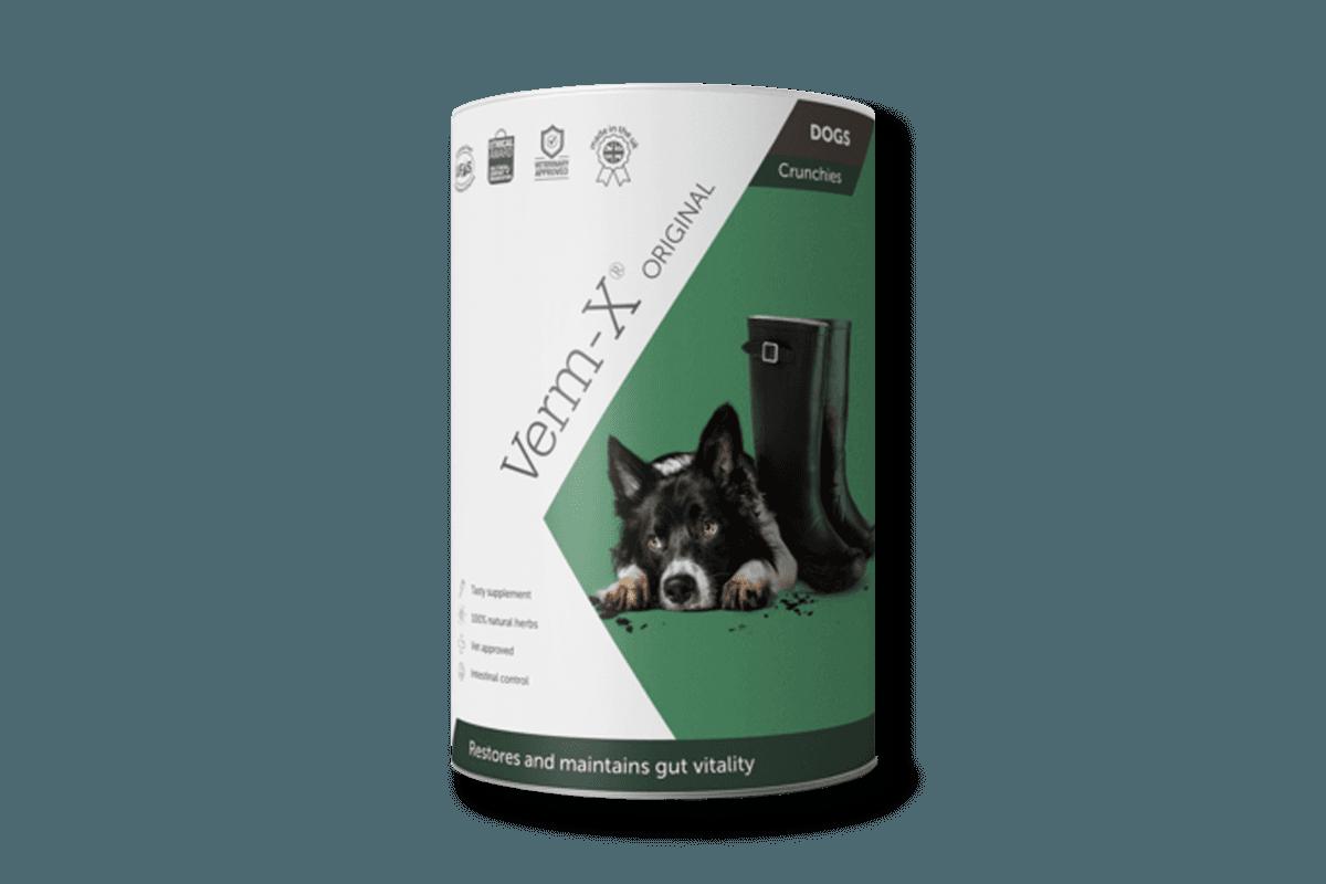 Verm X Original Crunchies for Dogs 100g