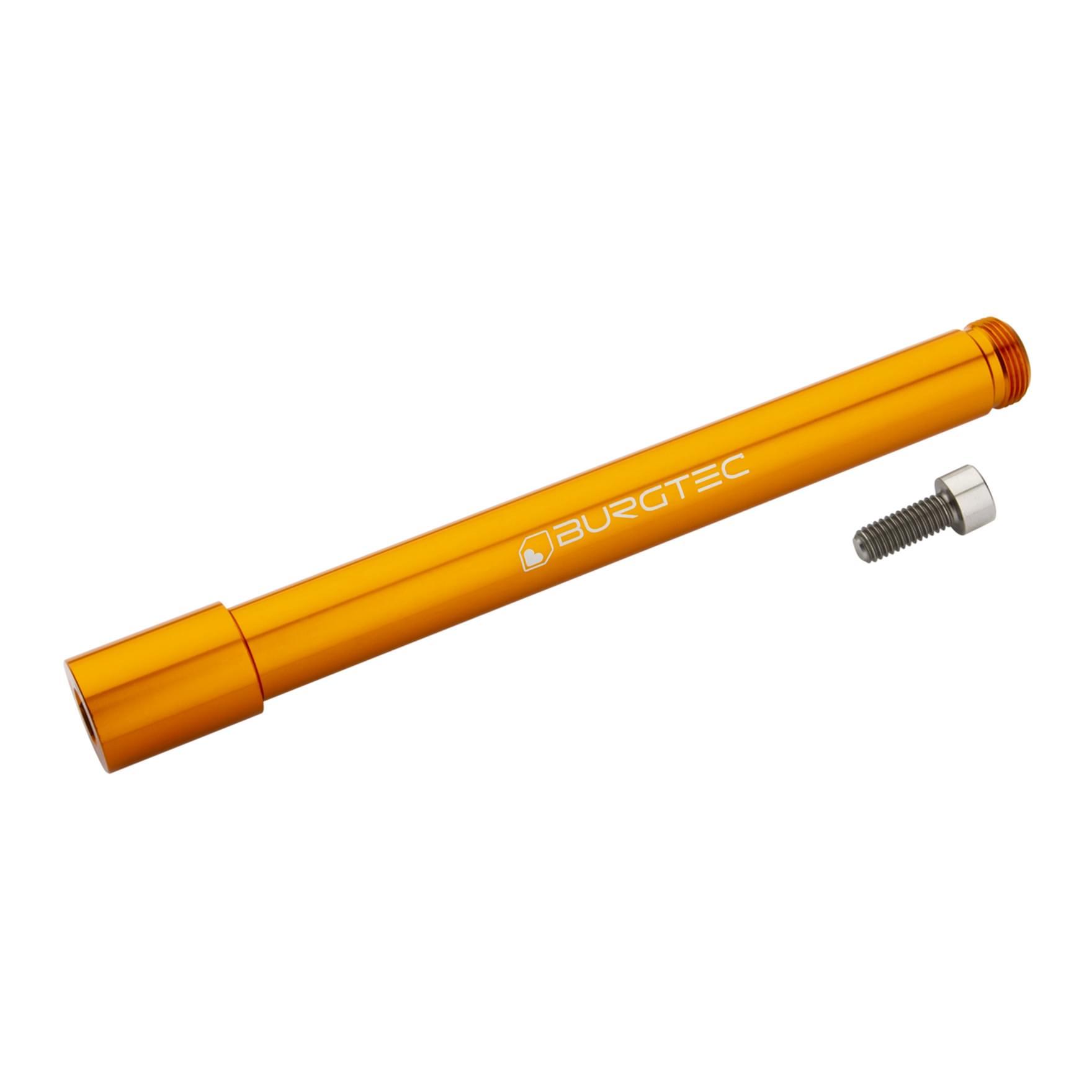 Burgtec Öhlins Boost Fork Axle Iron Bro Orange