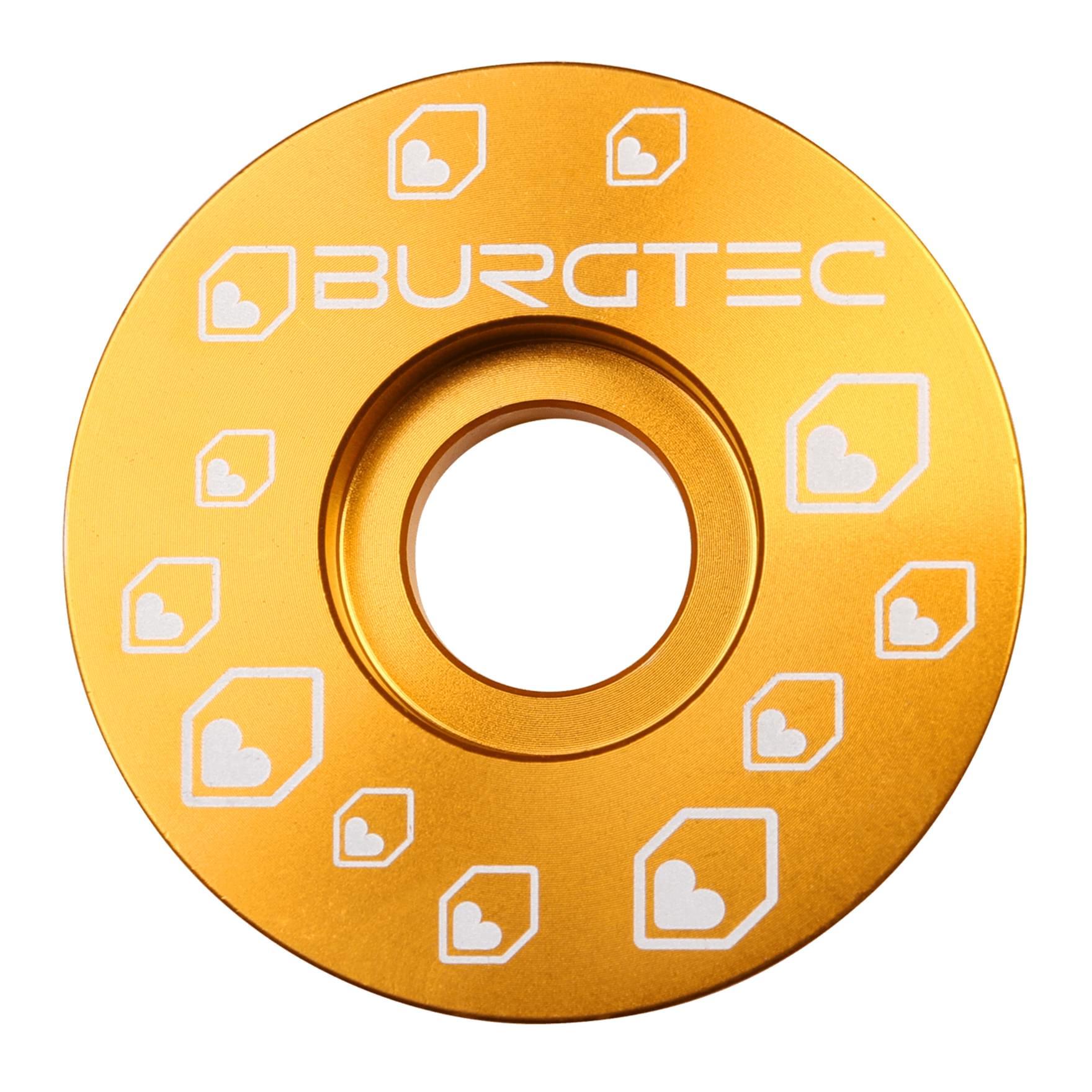Burgtec Top Cap Gold