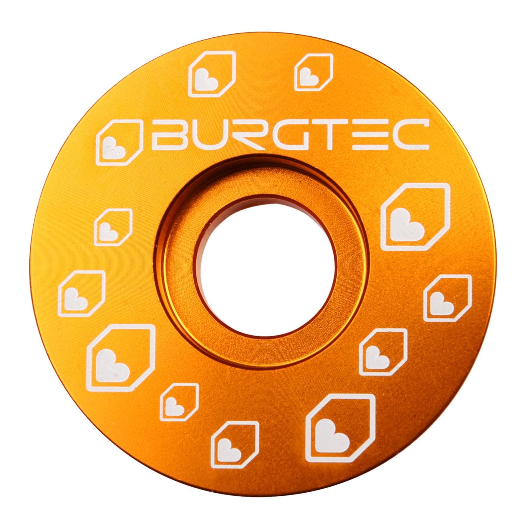 Burgtec Top Cap Iron Bro Orange