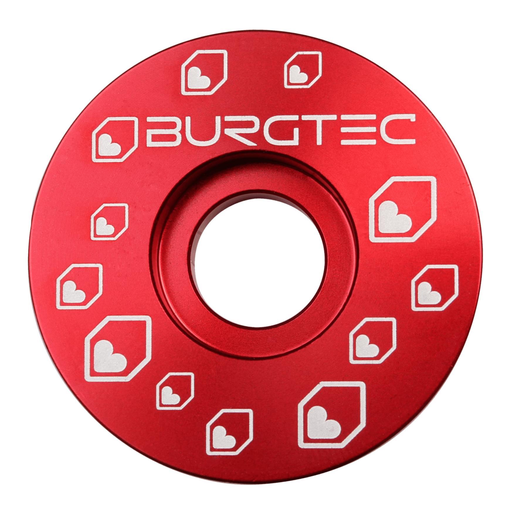Burgtec Top Cap Race Red