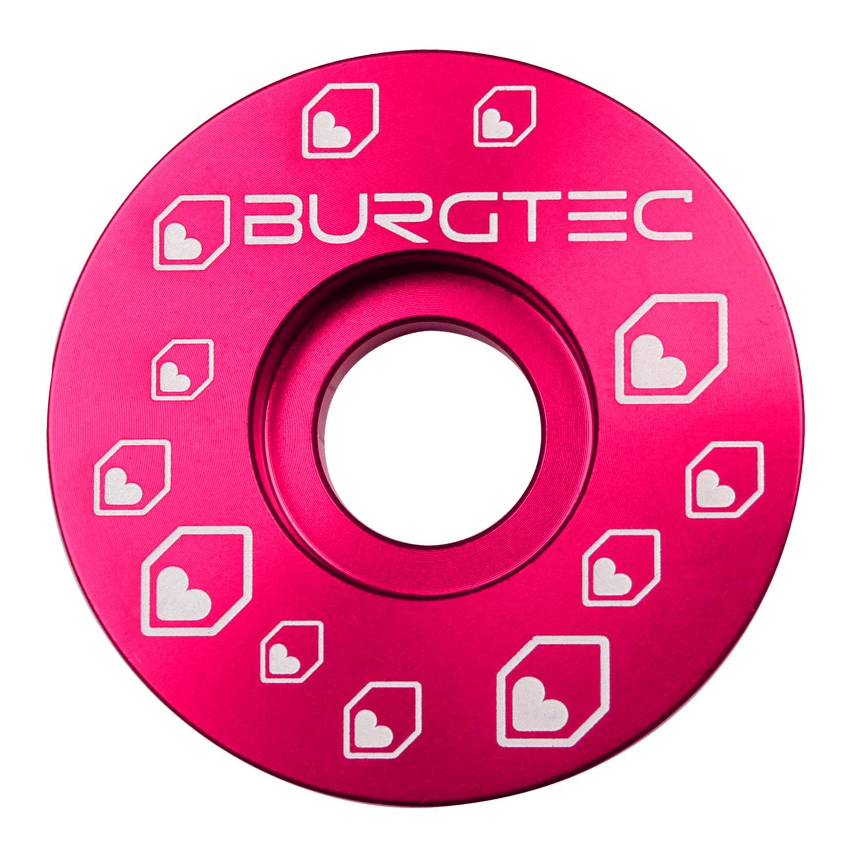 Burgtec Top Cap Toxic Barbie Pink