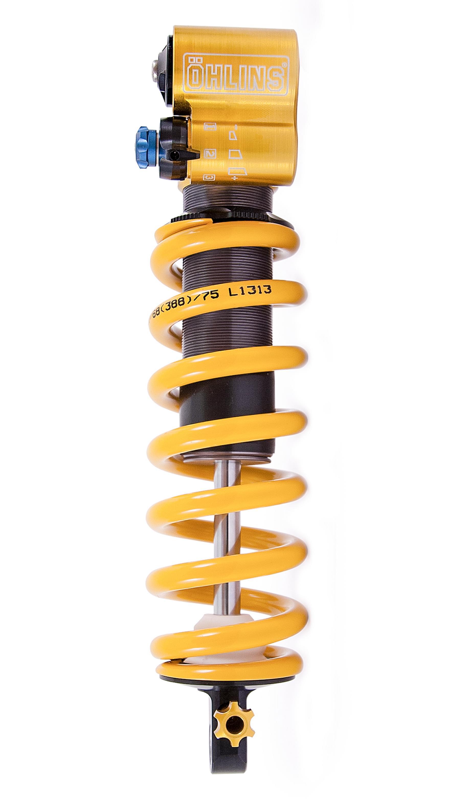 Ohlins TTX Coil Shock Profile