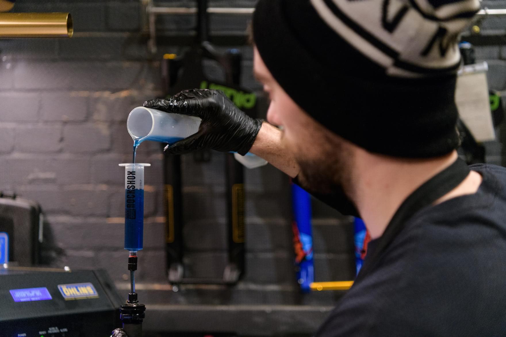 Plush workshop suspesnion fluid