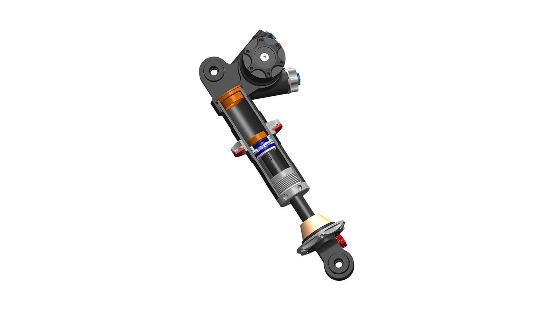 Push Hydraulic bottom out