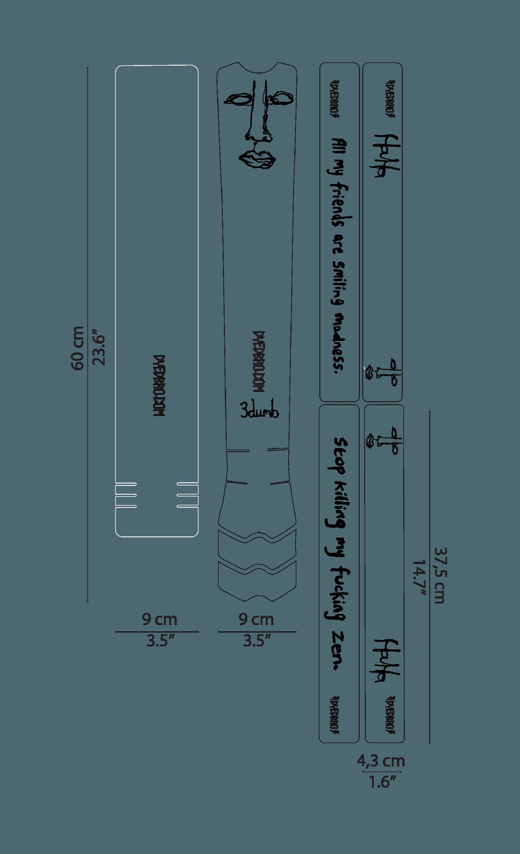 DYEDBRO 3 DUMB BLACK 01