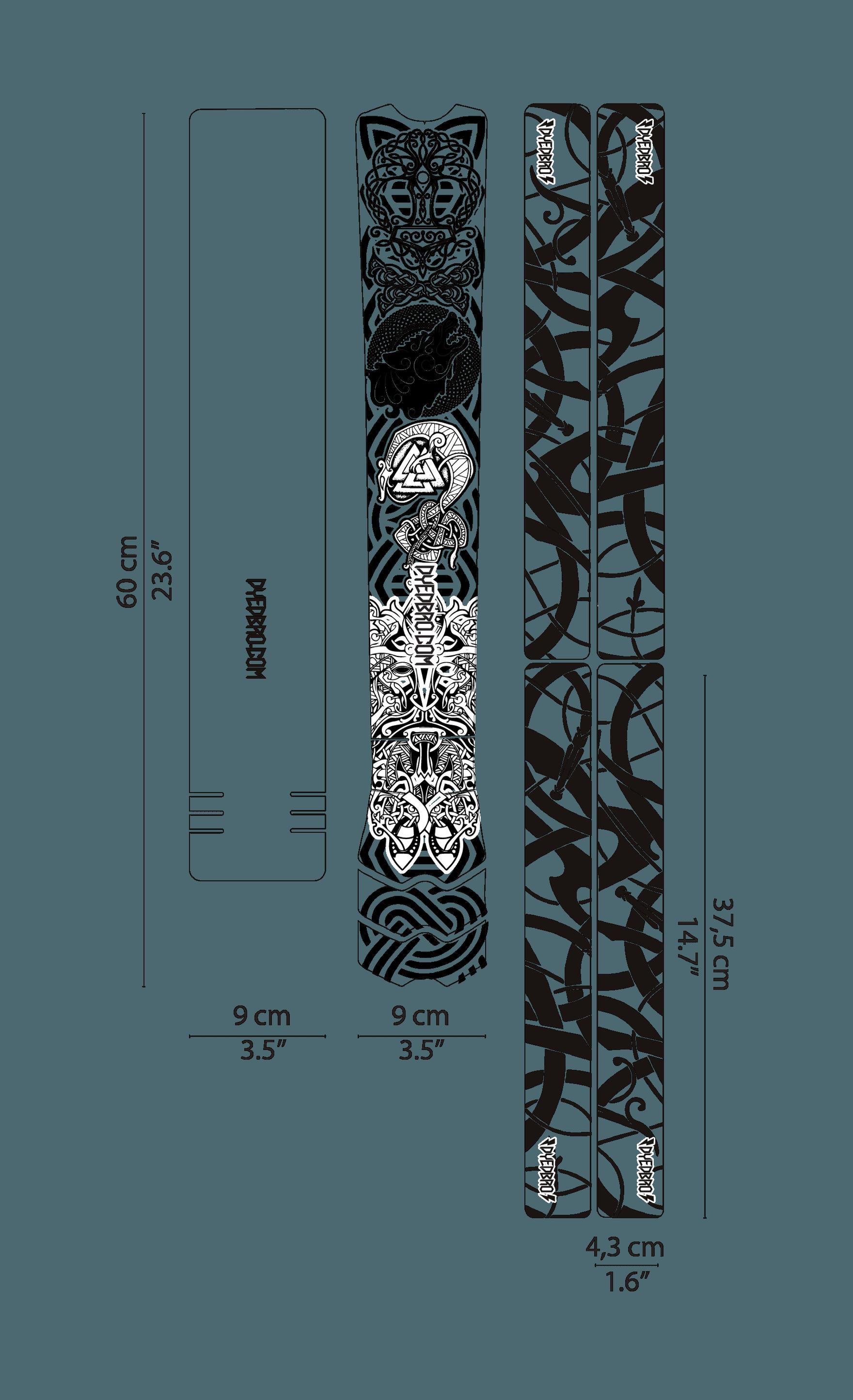 DYEDBRO VIKING BLACK 01