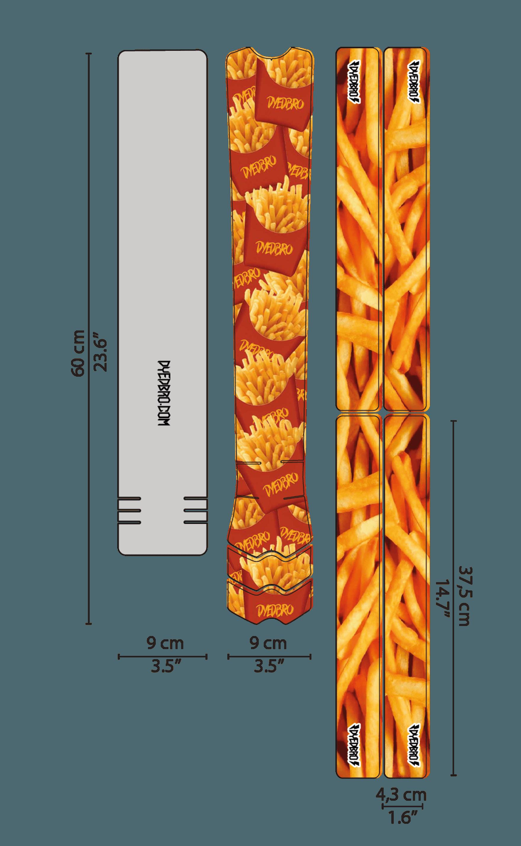 DYE Dbro French Fries 5