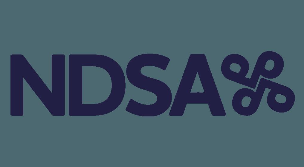 NDSA logo v2 dark blue
