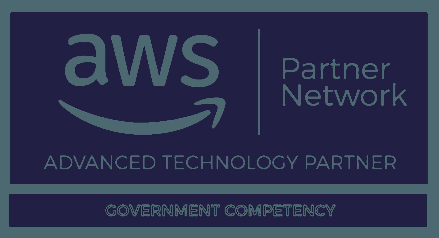 Aws gov competency logo dark blue edit