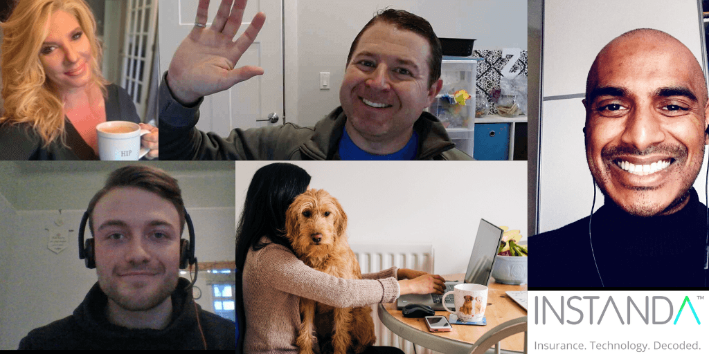 A home office hello from INSTANDA