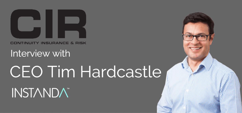 CIR Magazine Interview with INSTANDA CEO Tim Hardcastle
