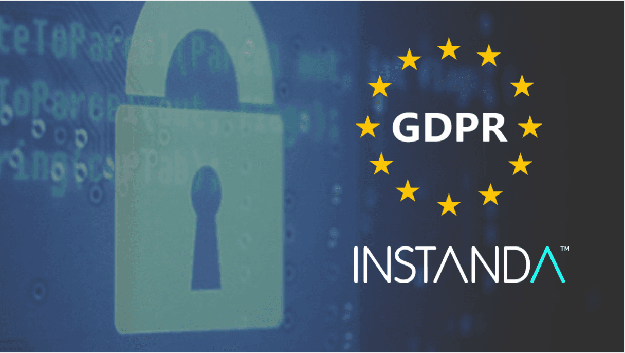 INSTANDA compliance with GDPR
