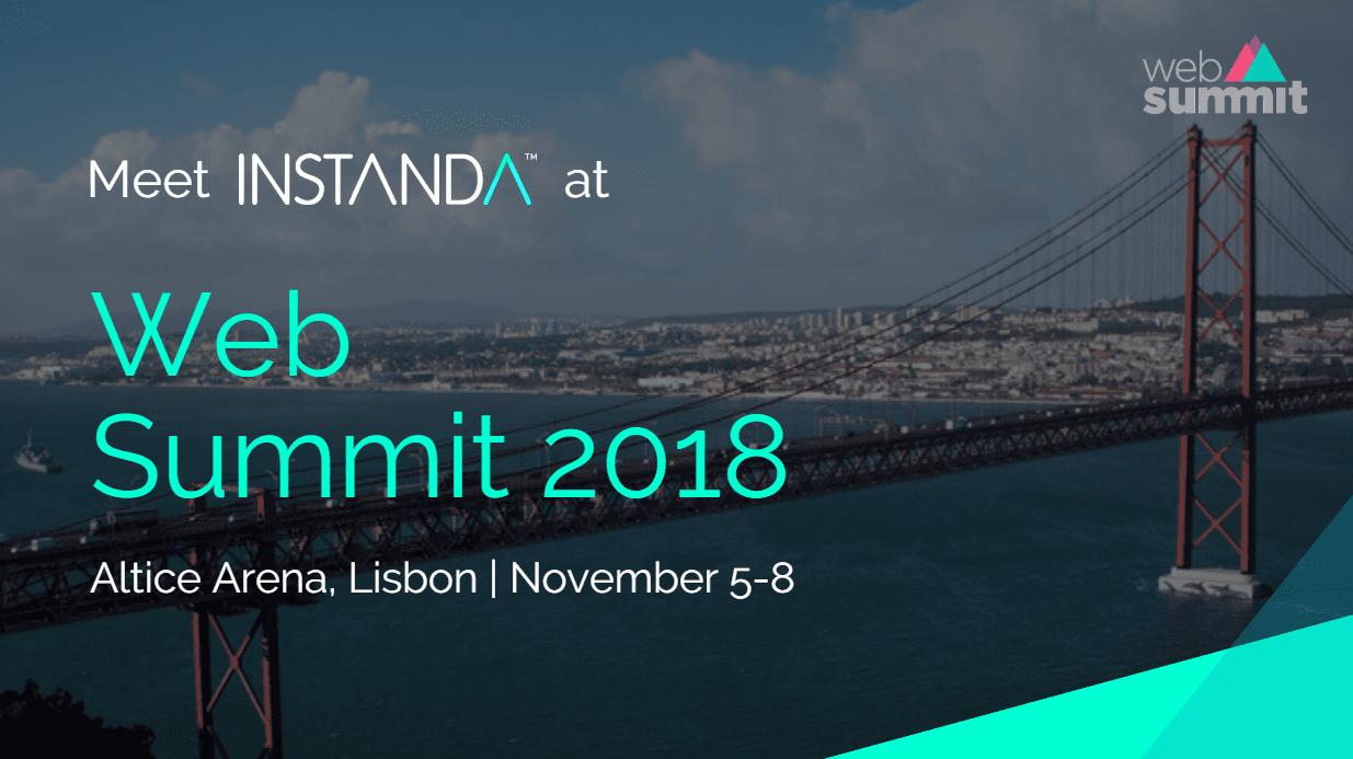 Meet INSTANDA at Web Summit 2018