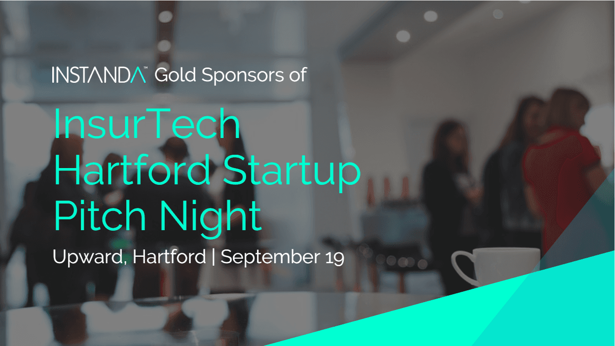 INSTANDA Gold Sponsors of InsurTech Hartford Startup Pitch Night