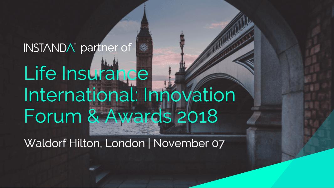 INSTANDA Partner of Life Insurance International: Innovation Forum & Awards 2018