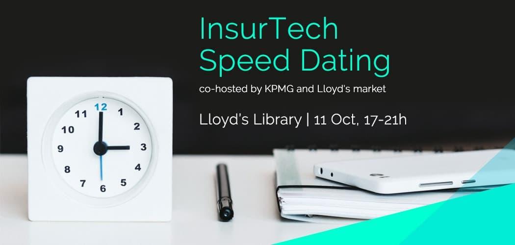 InsurTech Speed Dating